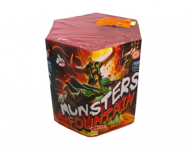 Pyrotechnika Fontána Monsters Fountain 168g
